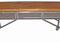 Reclaimed Wood Console Table Pottery Barn