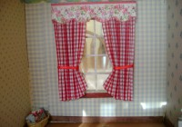 Red And White Curtains Target