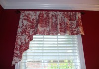 Red And White Kitchen Curtains