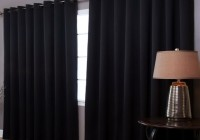 Red Blackout Curtains With Grommets
