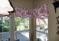 Red Kitchen Valance Curtains