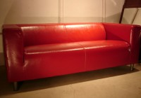 Red Leather Sofa Cushions