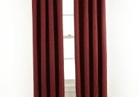 Red Paisley Curtain Panels
