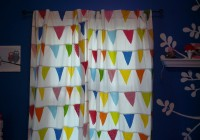 Red Yellow And Blue Curtains