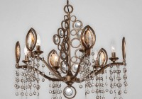 Regina Bronze Crystal Chandelier