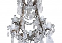 Rock Crystal Chandelier Pendants