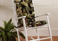 Rocking Chair Cushion Set Pattern
