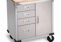 Rolling Workbench Cabinet