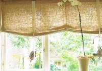 Roman Shade Kitchen Curtains