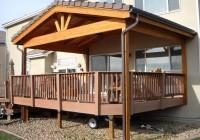 Roof Over Deck Design