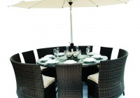 Round Bench Dining Set