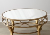 Round Mirror Coffee Table