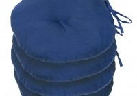 Round Outdoor Chair Cushions With Ties