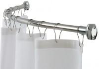 Round Shower Curtain Rod Home Depot