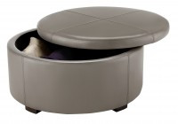 round storage ottoman coffee table