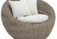 Round Wicker Chair Cushions