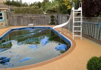 Rubber Pool Deck Materials