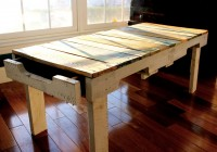 Rustic Bench Coffee Table