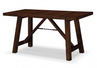 Rustic Counter Height Bench