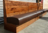 Rustic Leather Storage Bench