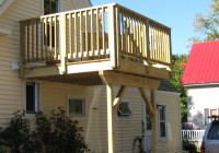 Second Story Deck Pictures