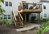 Second Story Deck Plans