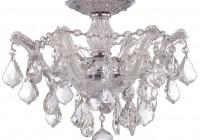 semi flush mount chandeliers