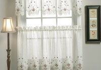 Semi Sheer Curtains With Pattern