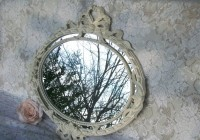 Shabby Chic Mirrors Cream