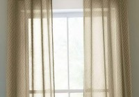 sheer curtain decorating ideas