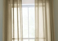 Sheer Curtain Scarf Ideas