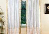 Sheer Curtain Valance Ideas
