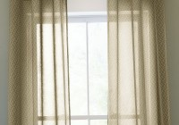 Sheer Curtain With Valance