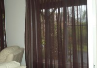 Sheer Curtains Over Blinds