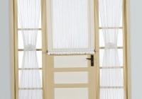 sheer door panel curtains