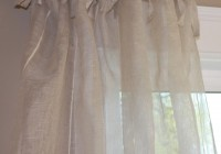 Sheer Linen Curtain Panels