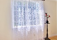 Sheer Off White Curtains