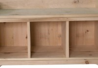 Shoe Cubby Bench Plans