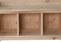 Shoe Cubby Bench Plans
