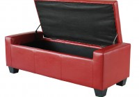 shoe storage ottoman bench