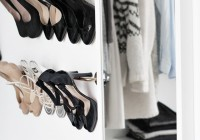 shoe storage walk in closet