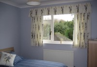 short bedroom curtains ideas
