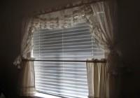 Short Sheer Curtains White
