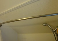 Shower Curtain Rods For Slanted Ceilings