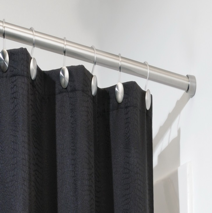 Permalink to Shower Curtain Tension Rod Short