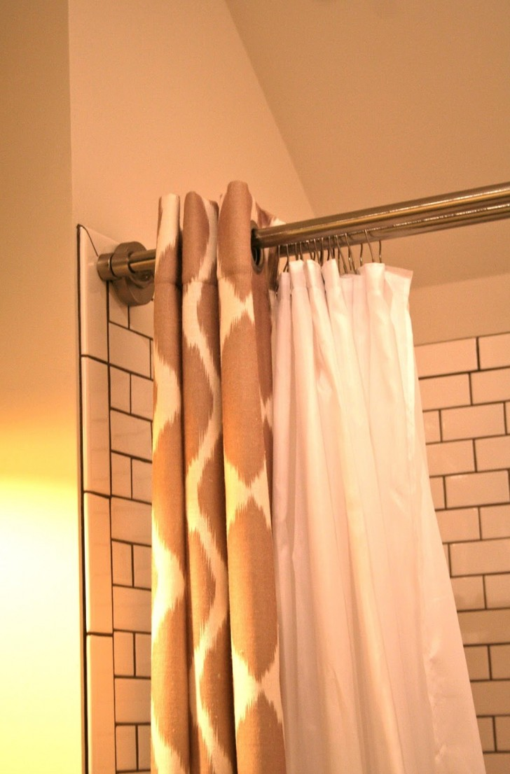 Permalink to Shower Curtain Tension Rod Won't Stay Up
