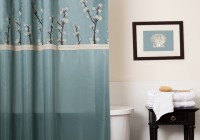 Shower Curtains Blue And Brown