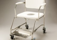Shower Transfer Bench With Commode