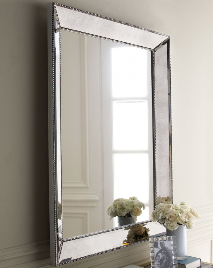 Permalink to Silver Framed Mirror Bathroom