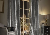 Silver Grey Velvet Curtains